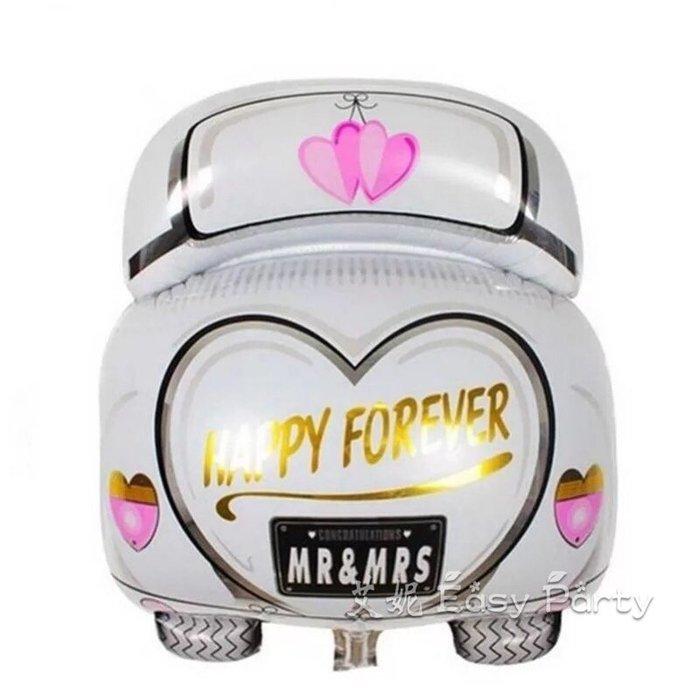 ◎艾妮 EasyParty ◎ 現貨 【結婚禮車氣球】結婚氣球 求婚氣球 派對 婚紗拍攝 婚禮布置 氣球布置 情人節