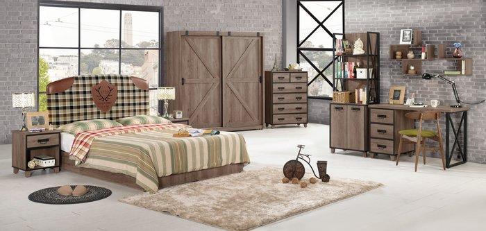 [歐瑞家具] CH019-5 哈麥德1.5尺床頭櫃/大台北地區/系統家具/沙發/床墊/茶几/高低櫃/1元起