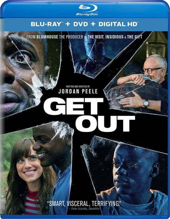 BD 全新美版【逃出絕命鎮】【Get Out】Blu-ray 藍光