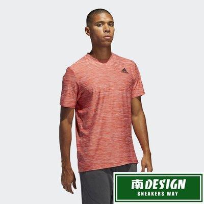 南◇2020 6月 ADIDAS ALL SET 短T 排汗 透氣 FL1553 橘紅  跑步 健身 運動短袖上衣 男款