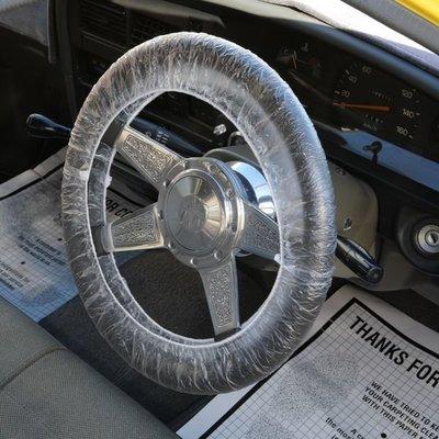 (I LOVE樂多)美國進口 Steering Wheel Cover 方向盤保護套