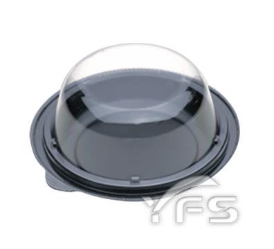 RDC-7食品盒(中) (底PS/蓋OPS) (提拉米蘇/奶油蛋糕/海綿蛋糕/圓形蛋糕盒)