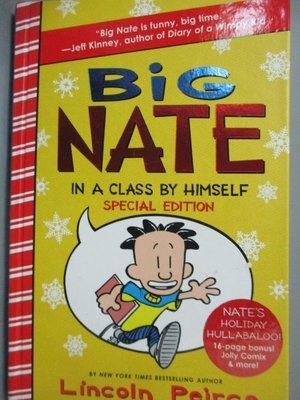 【書寶二手書T9/少年童書_KGO】Big Nate in a Class by Himself_Peirce, Lin