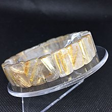 鈦晶手排 重37.3克 寬1咪 手圍18.5 編號A54