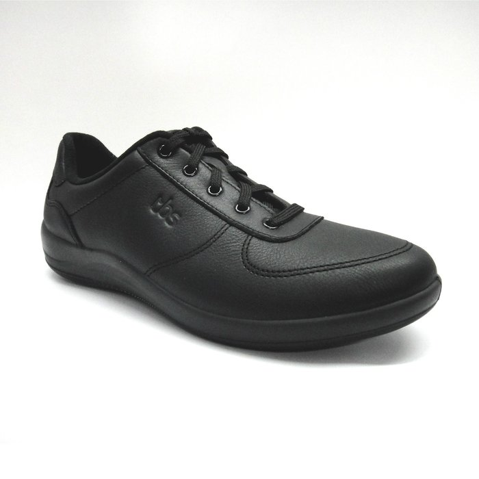 [WALKER 休閒運動] TBS法國原裝進口經典網球鞋 [女] 黑 AMANDA