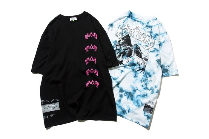 { POISON } DeMarcoLab THE HOUSE TEE 結合老風格SKATE PUNK元素