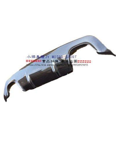 ☆小傑車燈精品☆BMW E60 M-TECH 3D 卡夢 Carbon 4出後中包