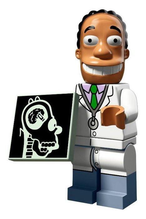 現貨【LEGO 樂高】益智玩具 積木/ Minifigures人偶系列:辛普森2代人偶包 華頭醫生 71009