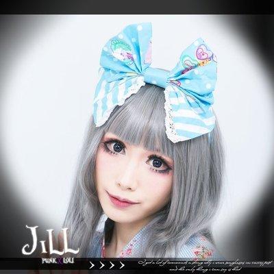 Oo吉兒oO日系可愛蘿莉塔 玩偶熊小飛象氣球天堂蝴蝶結髮箍 4色 獨家 LOLITA【JJ6002】