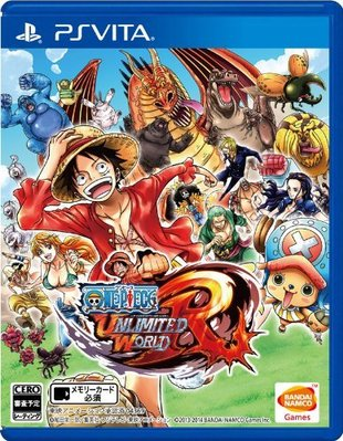 【二手遊戲】 PSV 海賊王 無限世界R ONE PIECE Unlimited World 中文版【台中恐龍電玩】