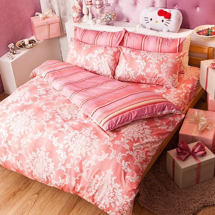床包兩用被組 / 雙人【經典皇家系列】含兩件枕套  100%精梳棉  戀家小舖台灣製AAL215