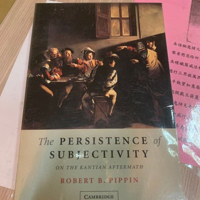 The PERSIS TENCE of SUBJECTIVITY(未拆封)