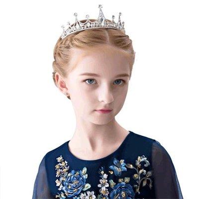 髮飾 兒童皇冠發飾女童頭飾公主皇冠發箍兒童頭箍演出發飾女童頭飾王冠 歐雷爾藝術館