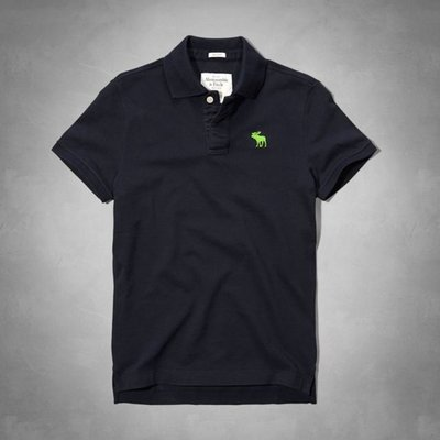Abercrombie & Fitch 短袖POLO衫 121-224-0555-023