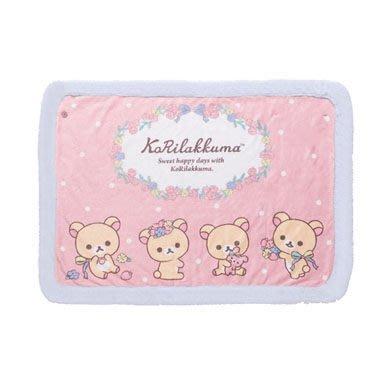 San-X 日本正版 Rilakkuma 鬆弛熊 輕鬆熊 牛奶熊 毛毯 毛氈 冷氣被