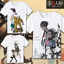 T恤第五人格遊戲周邊T恤傑克園丁魔術機械師動漫學生休閒短袖衣服 聖誕交換禮物