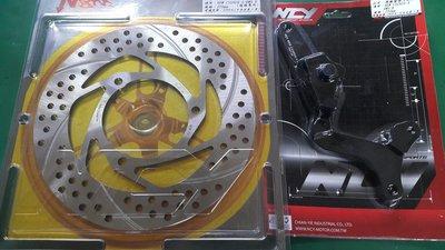 駿馬車業 NCY 勁戰4代/BWSR後碟 固定碟盤 220MM 配原廠加大卡座 一組3700 不用改卡鉗