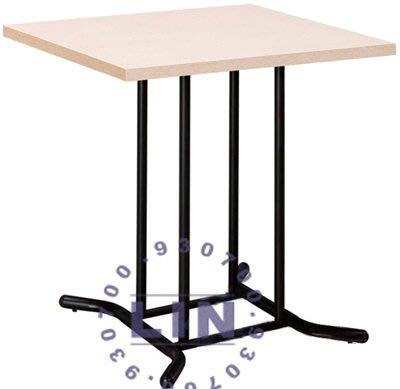 【品特優家具倉儲】A425-24餐桌2.5尺方型餐桌洽談桌