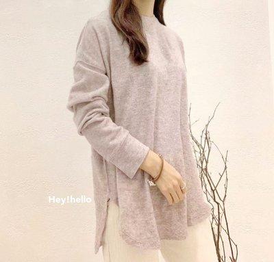 (現貨)正韓高質感棉質素色上衣t恤