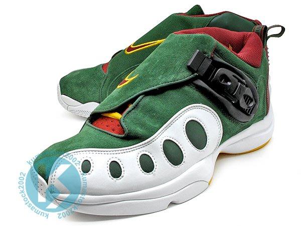 NIKE ZOOM GP 1 綠白 綠白紅 猴爪 麂皮 Gary Payton 代言 AR4342-300