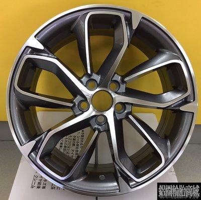 【CS-6574】全新鋁圈 類 原廠 紐柏林特仕版 ALTIS 17吋鋁圈 灰底車面 5/100 5/114.3