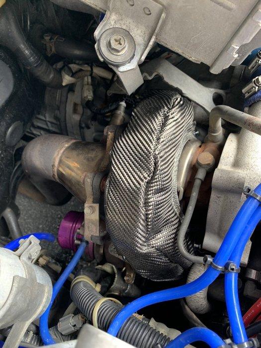 ☆光速改裝精品☆T25 TD04 TD05 排龜 渦輪隔熱罩 包覆帶