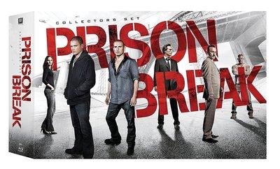 毛毛小舖--藍光BD 越獄風雲1-5季 25碟限量套裝版 Prison Break