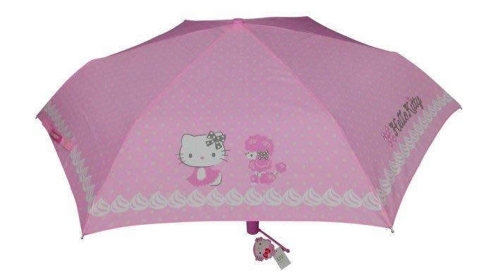 41+現貨免運費 雨傘 折傘 晴雨傘 獨家經銷  KITTY 精品雨傘 抗UV機能布料 纖維超輕 自動開收傘 自動傘