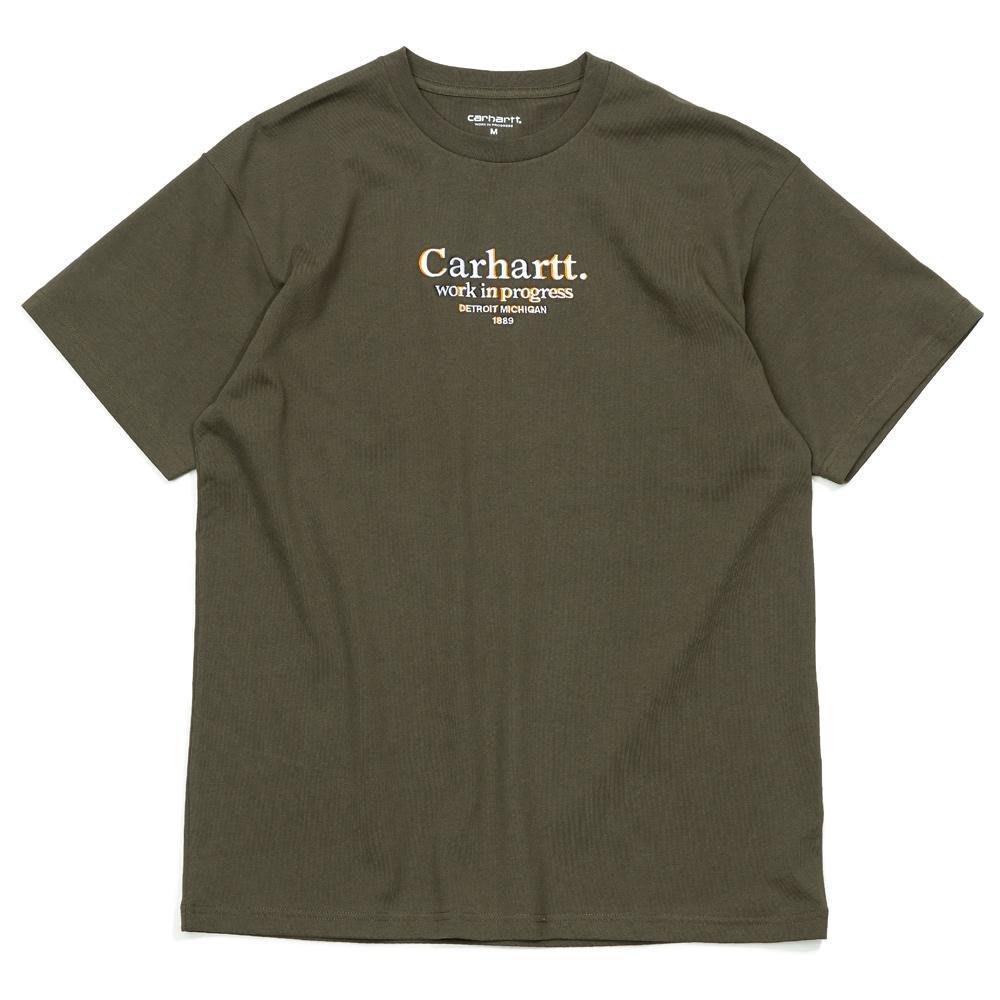【紐約范特西】預購 CARHARTT WIP COMMISSION TEE A202033 黑/墨綠 短T