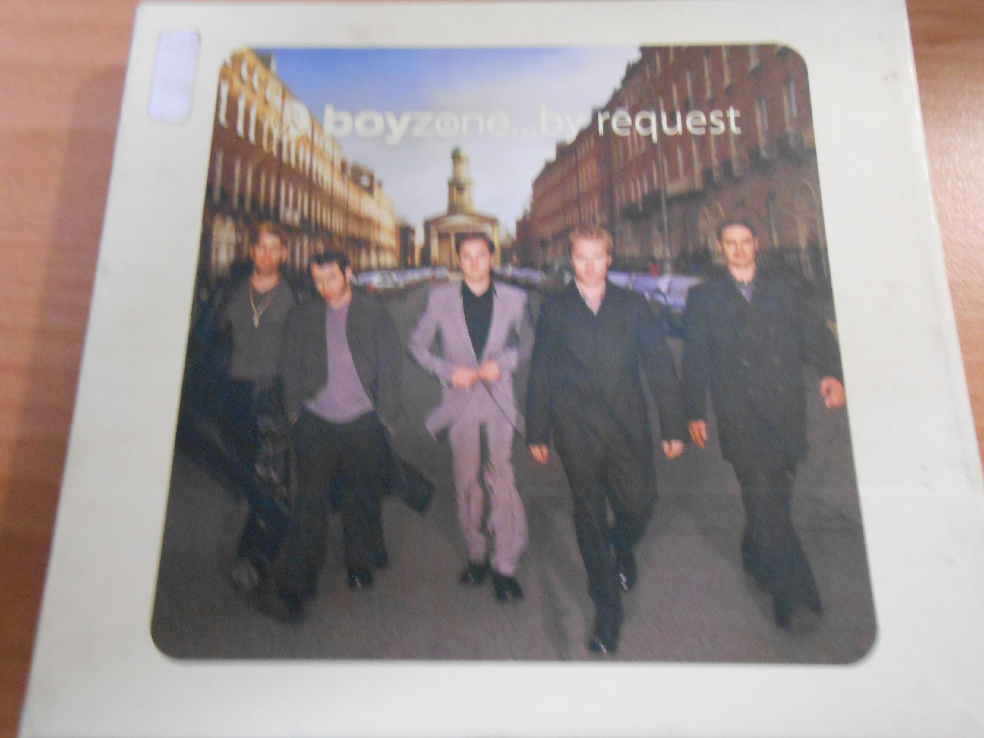 【采葳音樂網】-西洋CD – 〝boyzone...by request 〞 * boyzone * 共1 片A8