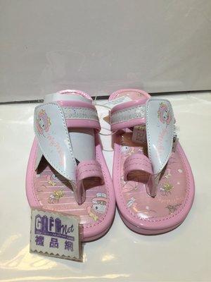 (現貨-特價)18cm (適合4-5歲 ) 穿趾夾拖 拖鞋 防滑 Sanrio My Melody 美樂蒂 日本直送 全新品