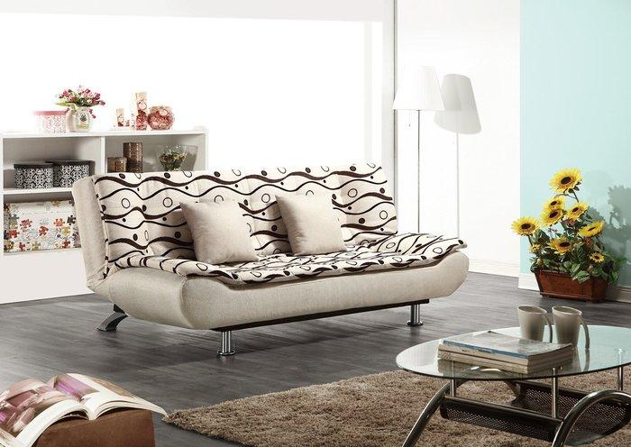 【南洋風休閒傢俱】沙發床系列 -尤金雙人沙發床  坐臥兩用床  套房沙發 (JH603-3)