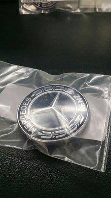 ☆正☆ Mercedes- Benz 原廠 公司貨 引擎蓋 平標 引擎蓋 Mark 黑色款 Shooting Brake AMG