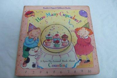 【彩虹小館】N9英文童書~How Many Cupcakes?