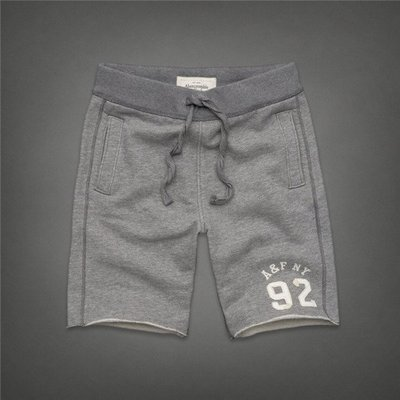 A&F Sweat Fleece Short 短棉褲 短褲 Abercrombie & Fitch Hollister