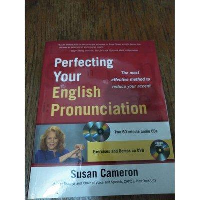 雷根《Perfecting Your English Pronunciation附DVD》#9成新#T3705