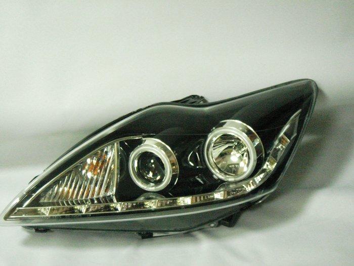 花蓮【阿勇的店】FORD 09 10 11 12 FOCUS MK2.5 黑框光圈魚眼R8式大燈 focus 大燈