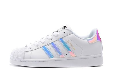D-BOX  Adidas Originals Superstar Foundation Shoes 鐳射 板鞋 貝殼頭