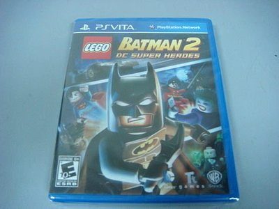 遊戲殿堂~PS Vita『樂高蝙蝠俠 2:DC 超級英雄』美版全新品