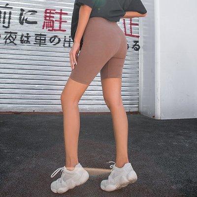 新品Fitlife收腹健身褲中褲女五分褲休閒外穿高腰翹臀提臀瑜伽褲秋季