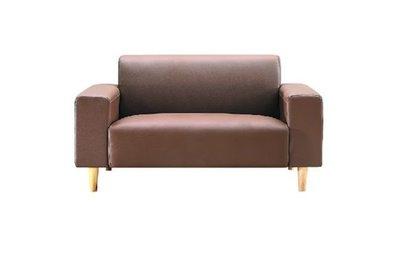 【EA295-602】蘿絲卡其色沙發2人份雙邊扶手