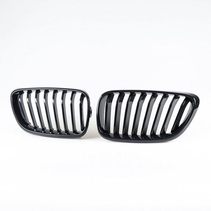 [亮黑] 水箱罩鼻頭格柵 寶馬BMW 2系列 F22 F23用 2014年式後適用/汽車外飾交換件