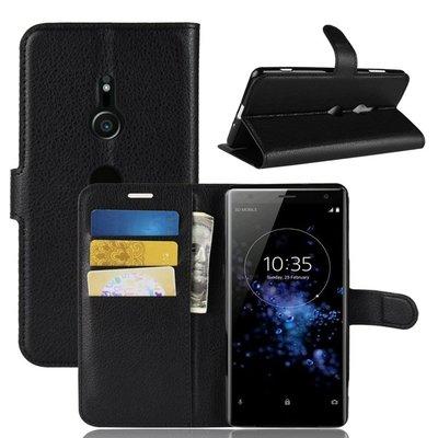 適用于Sony索尼xperia xz3手機殼超薄磨砂潮牌翻蓋式XZ3插卡皮套Sony手機保護殼手機套現貨全新