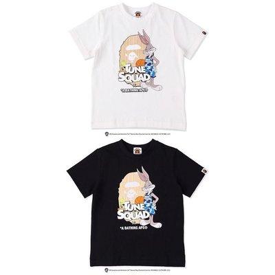 東京蛋蛋日本代購 bape X SPACE JAM 兔八哥灌籃短袖T恤 童裝0710