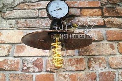 ~ 囍 閱 家 居 ~ 壁燈 Loft 工業風 水管有蓋壁燈