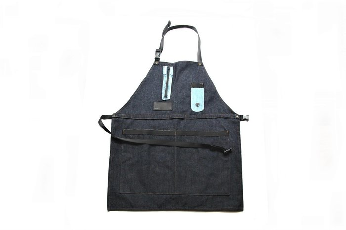 【 PUNX 】PUNX 19SS DENIM SPLIT APRON #2 牛仔拼接圍裙