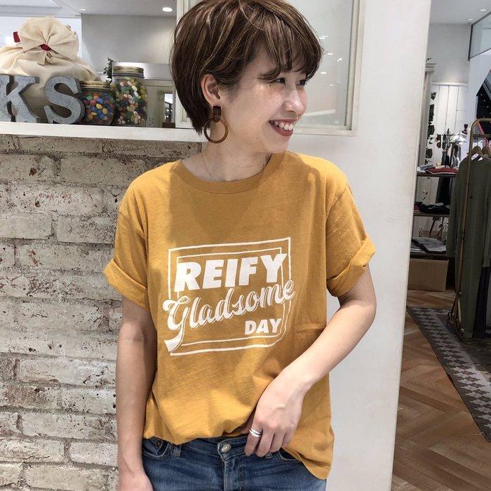 ☆NFNL☆ UNGRID 2019春夏新品 夏日亮眼好搭配 美式二手復古風洗舊感短袖T恤 Champion emoda
