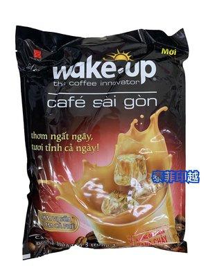 {泰菲印越} 越南 WAKE UP  西貢 三合一咖啡 24入