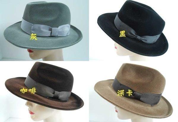 //阿寄帽舖//植毛定型紳士帽!!全部紙箱包裝!