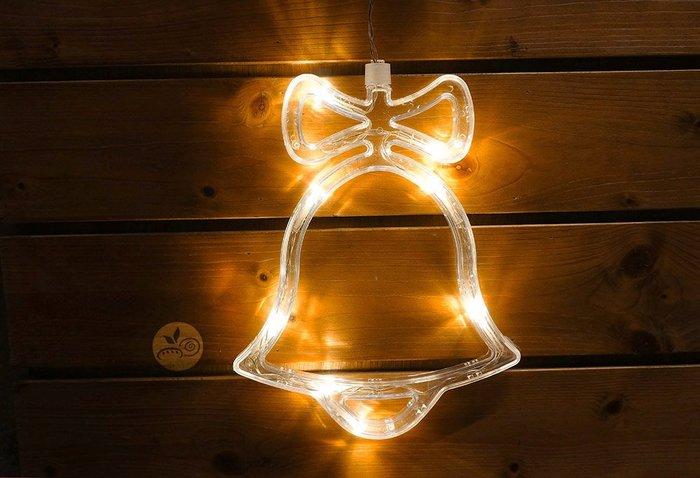 裝飾燈_聖誕鈴鐺單入(電池)_B107-009◎裝飾.燈具.鈴鐺.聖誕節.裝飾燈.布置